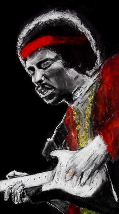 Jimi Hendrix por maximuslevrai